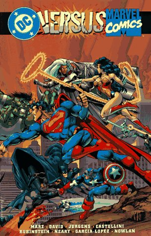 DC vs. Marvel Comics, DC Comics