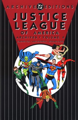 Justice League Of America Archives Vol. 4 Cover