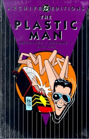 The Plastic Man Archives cover