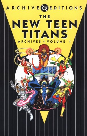 The New Teen Titans Archives Vol. 1 Cover