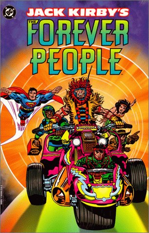 Jack Kirby's The Forever People Cover