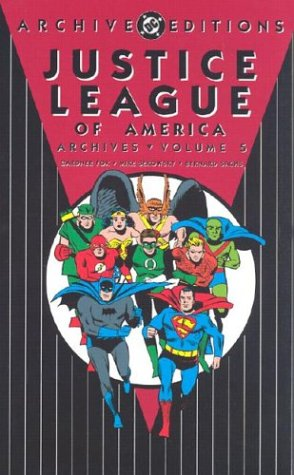 Justice League Of America Archives Vol. 5 Cover