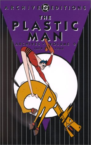The Plastic Man Archives Vol. 2 Cover
