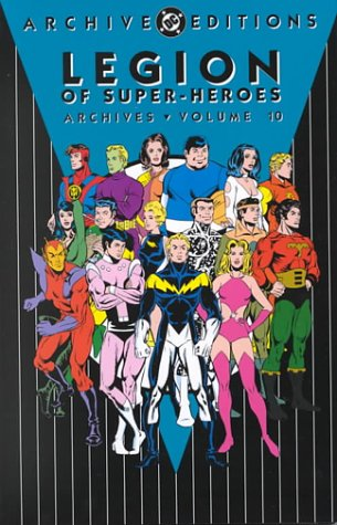 Legion of Super-Heroes Archives Vol. 10 Cover