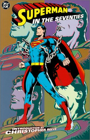 Superman In The Seventies Cover