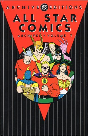All Star Comics Archives Vol. 7 Cover
