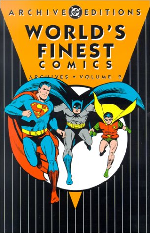 World's Finest Comics Archives Vol. 2 Cover
