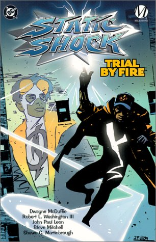 Static Shock: Trial by Fire cover