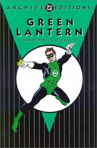 The Green Lantern Archives Vol. 4 Cover
