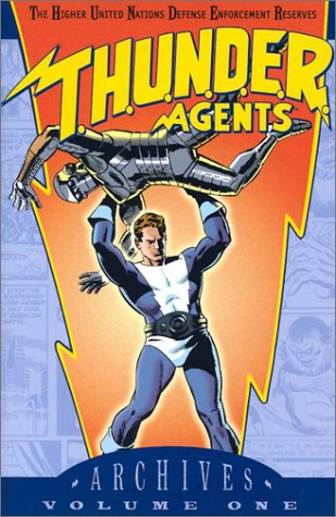 T.H.U.N.D.E.R. Agents Archives Vol. 1 Cover