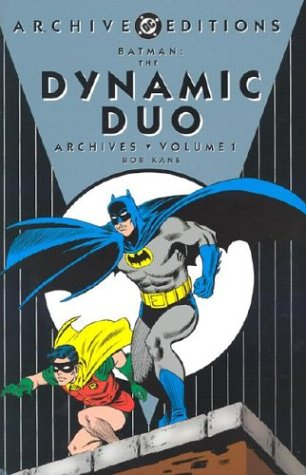 Batman: The Dynamic Duo Archives Vol. 1 Cover