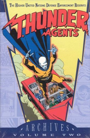 T.H.U.N.D.E.R. Agents Archives Vol. 2 Cover
