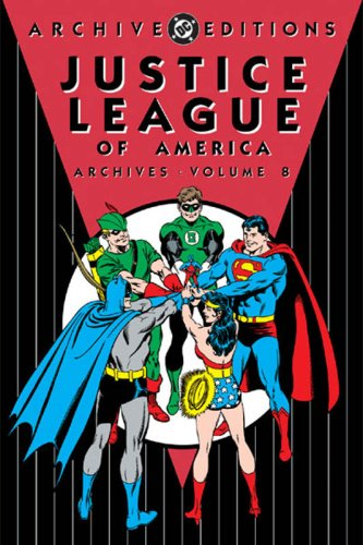 Justice League Of America Archives Vol. 8 Cover
