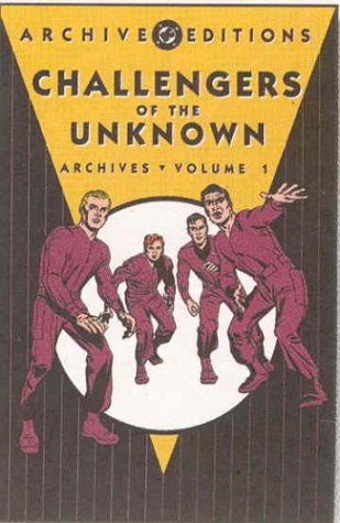 Challengers Of The Unknown Archives Vol. 1 Cover