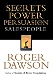 Buy Secrets of Power Persuasion for Salespeople from Amazon