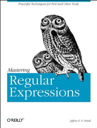 [Mastering regular expressions front page]
