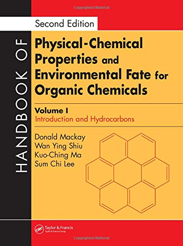 PDF Handbook of Physical Chemical Properties and Environmental Fate for Organic Chemicals Second Edition