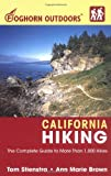 Foghorn Outdoors:  California Hiking: The Complete Guide to More Than 1,000 Hikes
