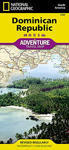 Dominican Republic (National Geographic Adventure Map) - National Geographic Maps - Adventure
