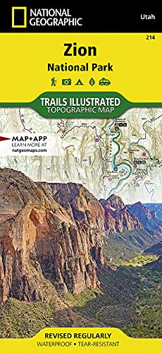 Zion National Park (National Geographic Trails Illustrated Map) - National Geographic Maps - Trails Illustrated