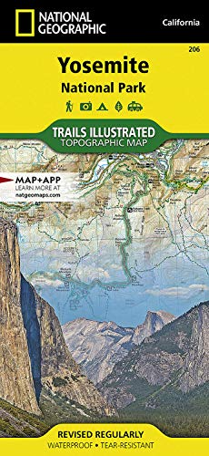 Yosemite National Park (National Geographic Trails Illustrated Map) - National Geographic Maps - Trails Illustrated
