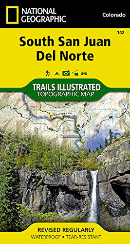 South San Juan, Del Norte (National Geographic Trails Illustrated Map) - National Geographic Maps - Trails Illustrated