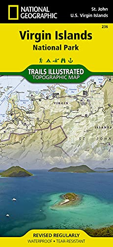 Virgin Islands National Park (National Geographic Trails Illustrated Map) - National Geographic Maps - Trails Illustrated