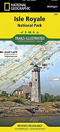 Isle Royale National Park (National Geographic Trails Illustrated Map) - National Geographic Maps - Trails Illustrated