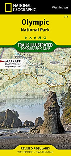 Olympic National Park (National Geographic Trails Illustrated Map) - National Geographic Maps - Trails Illustrated