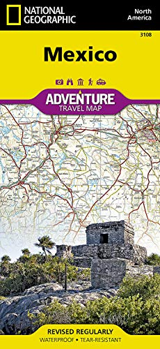 Mexico (National Geographic Adventure Map) - National Geographic Maps - Adventure