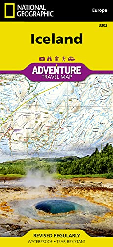 Iceland (National Geographic Adventure Map) - National Geographic Maps - Adventure