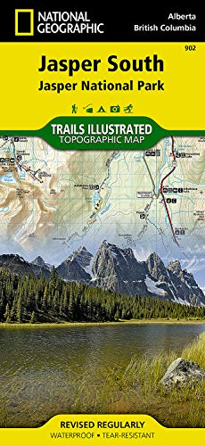 Jasper South [Jasper National Park] (National Geographic Trails Illustrated Map) - National Geographic Maps - Trails Illustrated