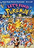 Let's Find Pokemon! Postcard Book