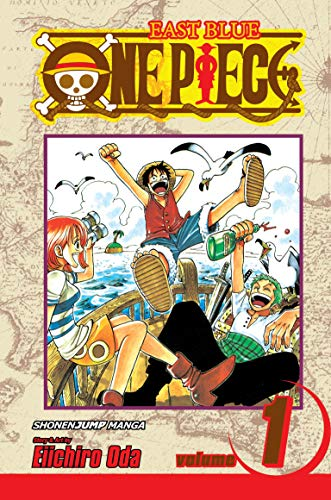 One Piece Book 1 cover