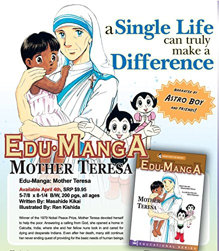 EduManga: Mother Teresa cover