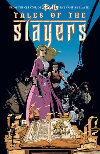 Buffy the Vampire Slayer: Tales of the Slayers cover