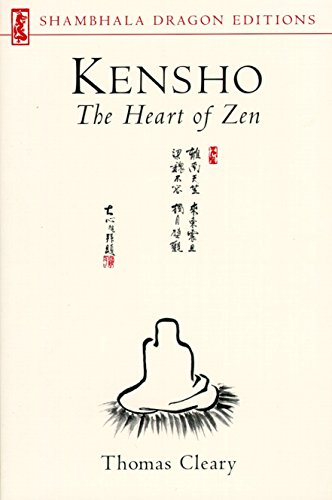 Kensho: The Heart of Zen (Shambhala Dragon Editions), Cleary, Thomas