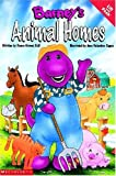Barney's Animal Homes: A Lift and Peek Book (Barney's Great Adventure)