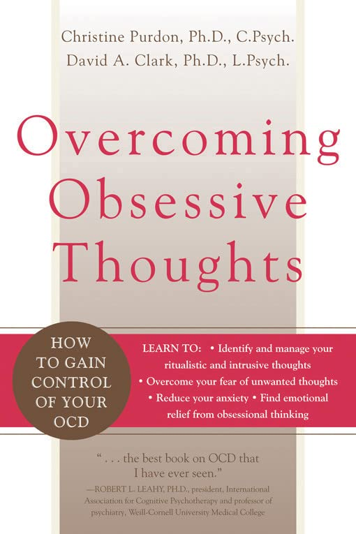 Overcoming Obsessive Thoughts Book Cover Picture