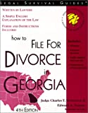 How to File for Divorce in Georgia