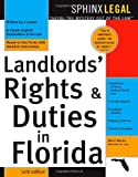 Landlord\'s Rights & Duties In Florida, 10E
