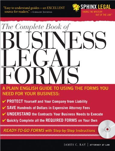 PDF The Complete Book of Business Legal Forms Legal Survival Guides