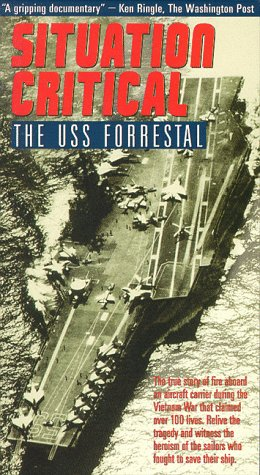 uss forestall, fire on the forestall united states aircraft carriers