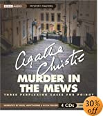 Murder in the Mews: Three Perplexing Cases for Poirot (Mystery Masters Series)... by  Agatha Christie, et al (Audio CD - November 2002)