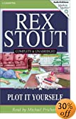 Plot It Yourself (Mystery Masters Series) [UNABRIDGED] by  Rex Stout, Michael Prichard (Reader) (Audio Cassette - February 2003) 