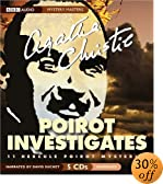 Poirot Investigates: Eleven Complete Mysteries (Mystery Masters Series) [UNABRIDGED] by  Agatha Christie, David Suchet (Reader) (Audio CD - July 2003)