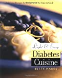Book Cover Image for Light and Easy Diabetes Cuisine