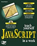 Teach Yourself Javascript in a Week