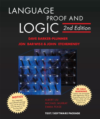 Language, Proof and Logic, 2nd Edition - David Barker-Plummer, Jon Barwise, John Etchemendy