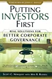Buy Putting Investors First: Real Solutions for Better Corporate Governance from Amazon